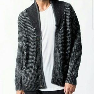 Rag & Bone Neiman Marcus Wool Cardigan Sweater M